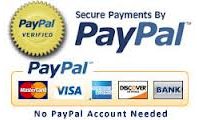 Paypal, Credit Card, etc.